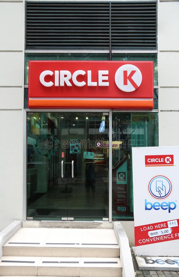 Cirkel K shoppar arkivfoto