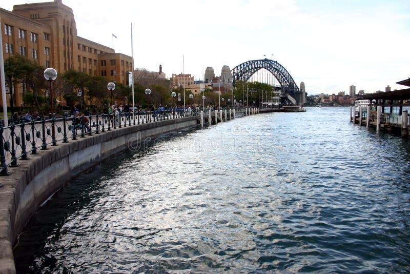 Cirkel Kade, Sydney stock afbeeldingen