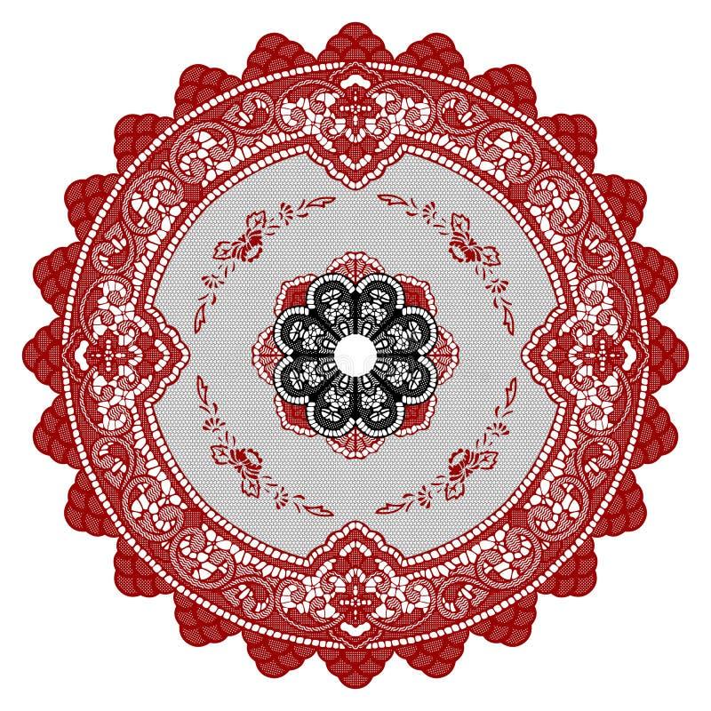 Cirkel Ornament stock illustratie
