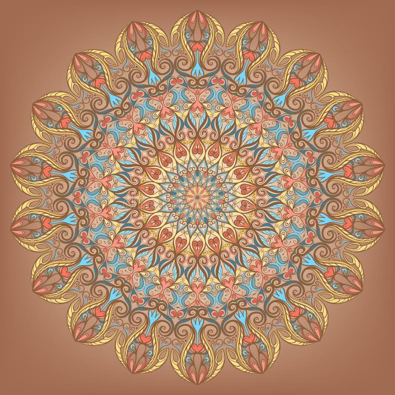 Cirkel patroon - 2 royalty-vrije illustratie