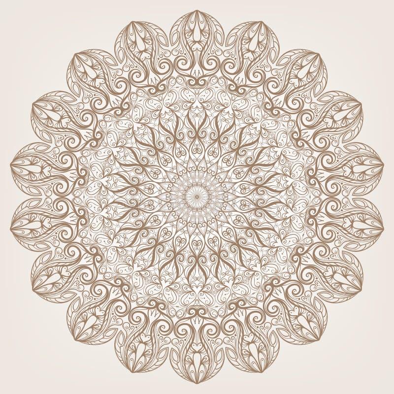 Cirkel patroon royalty-vrije illustratie
