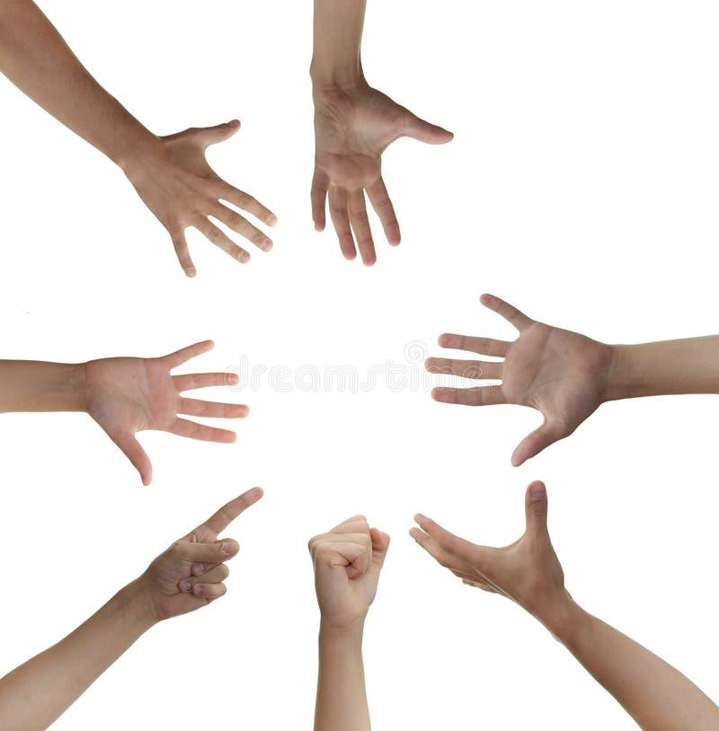 Download Cirkel van handen stock foto. Afbeelding bestaande uit succes - 10782358