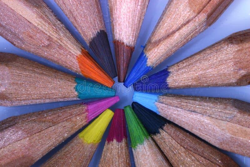 Cirkel van Kleuren stock afbeelding