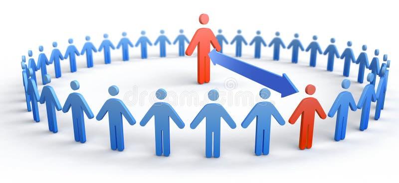 Cirkel van Mensen royalty-vrije stock afbeelding