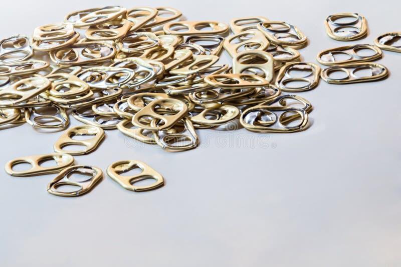Cirkelhandtag för återanvänder arkivfoto