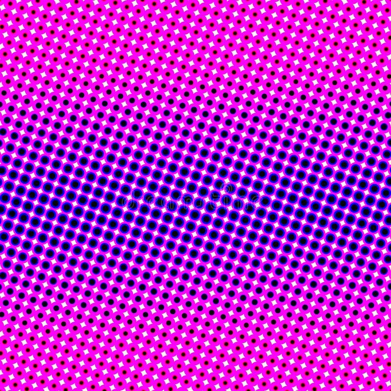 cirkelmodellstjärnor vektor illustrationer