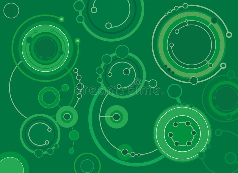 Cirkels vector illustratie