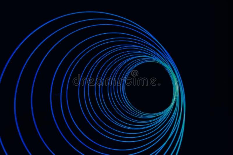 Cirkels het Lichte Schilderen stock fotografie