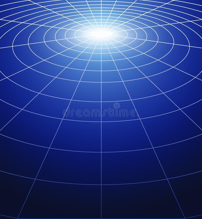 Cirkels van licht vector illustratie