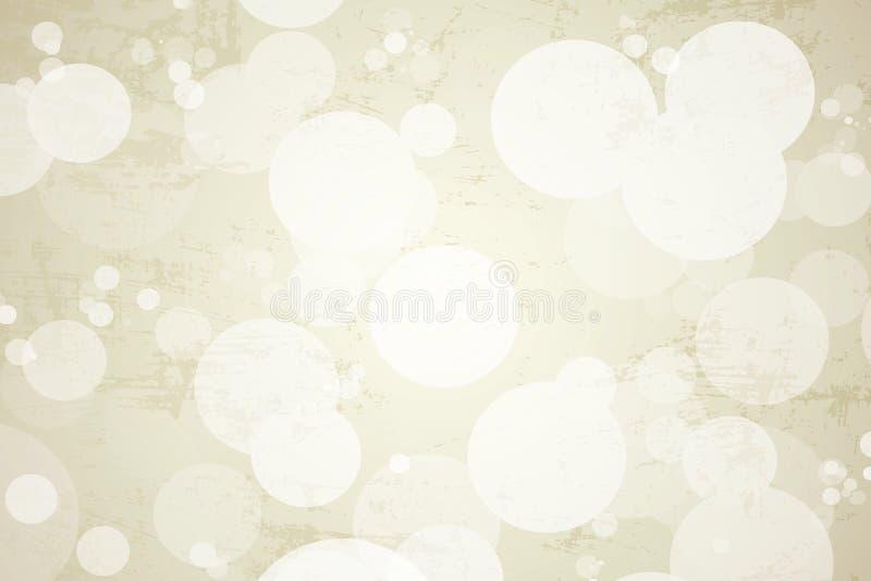 Cirkelvitbakgrund royaltyfri foto