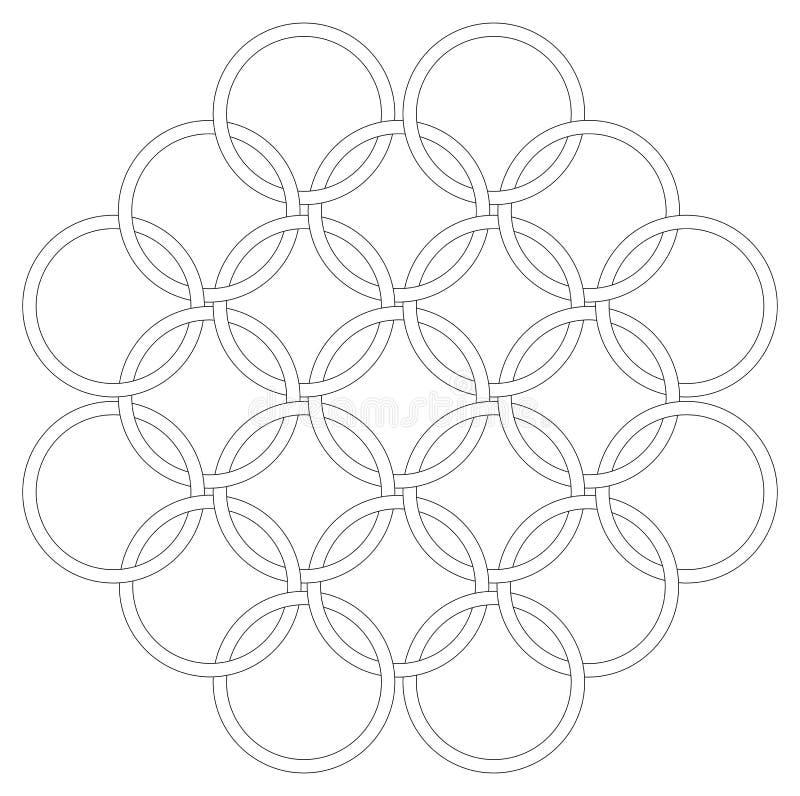 cirklar royaltyfria foton