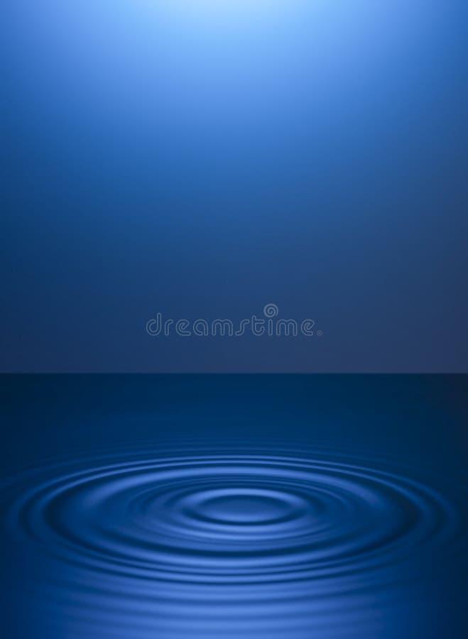 Cirklar p? vattnet fr?n droppar background card congratulation invitation stock illustrationer
