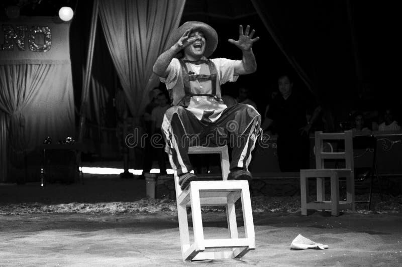 Cirkus Medrano - Cirque Medrano royaltyfri bild
