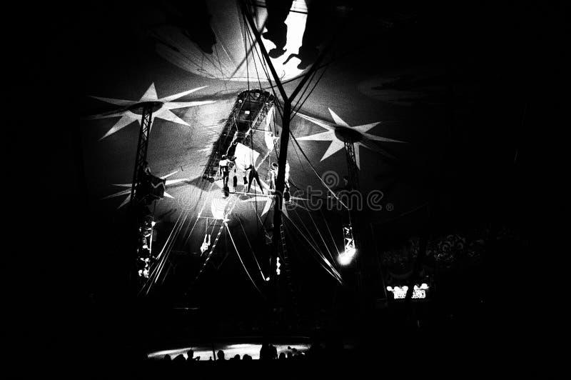 Cirkus Medrano - Cirque Medrano arkivbilder