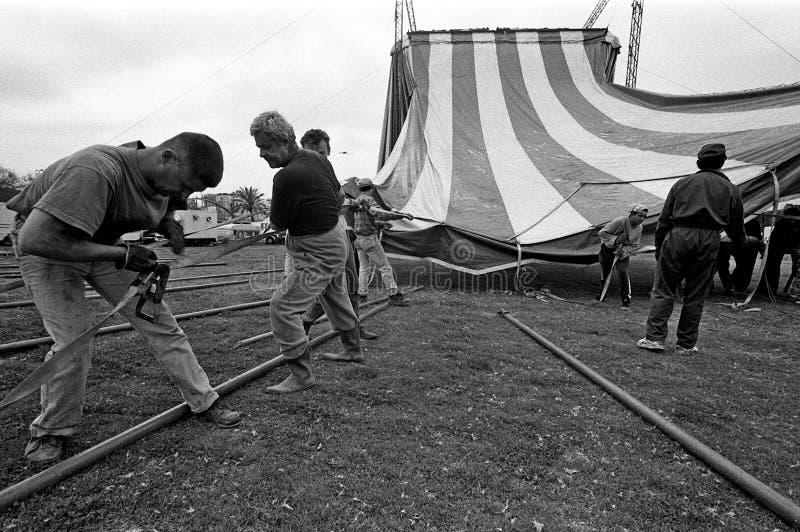 Cirkus Medrano - Cirque Medrano royaltyfri foto