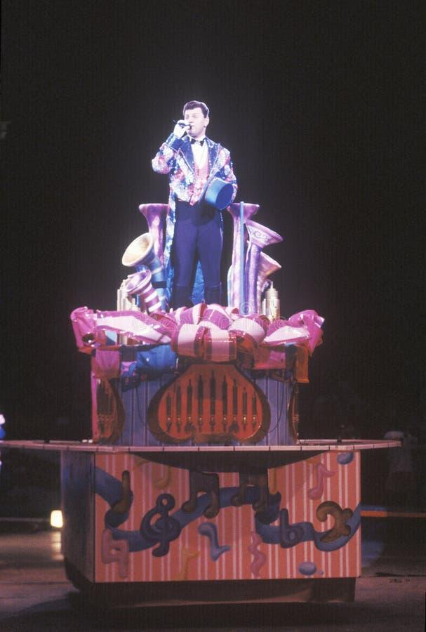 Cirkusdirektör, Ringling bröder & Barnum & Bailey Circus royaltyfria bilder