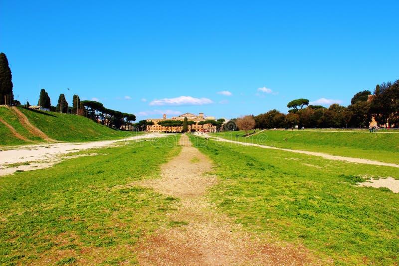 Cirkusmaximum, Rome royaltyfria foton