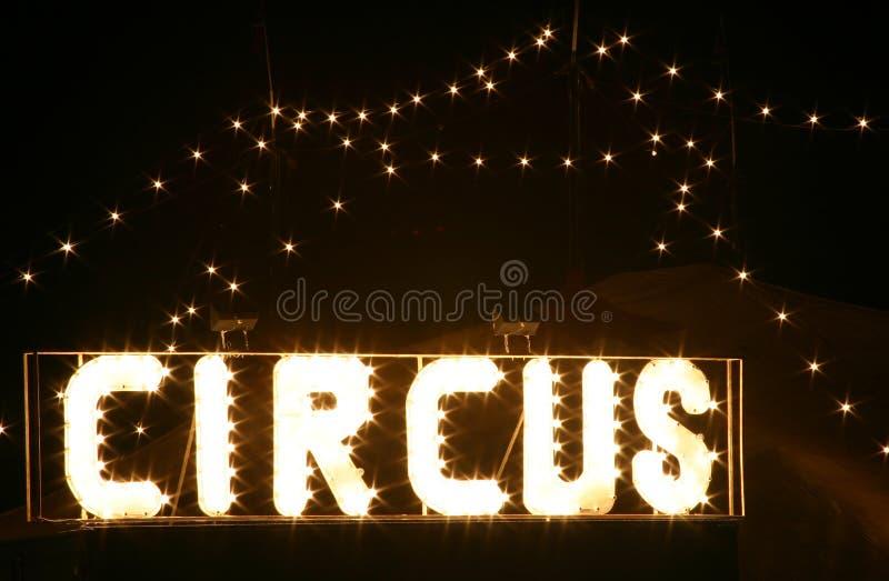 Download Cirkusnatt fotografering för bildbyråer. Bild av tent, natt - 276621