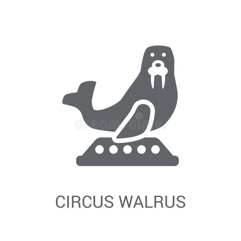 cirkusvalrosssymbol  stock illustrationer
