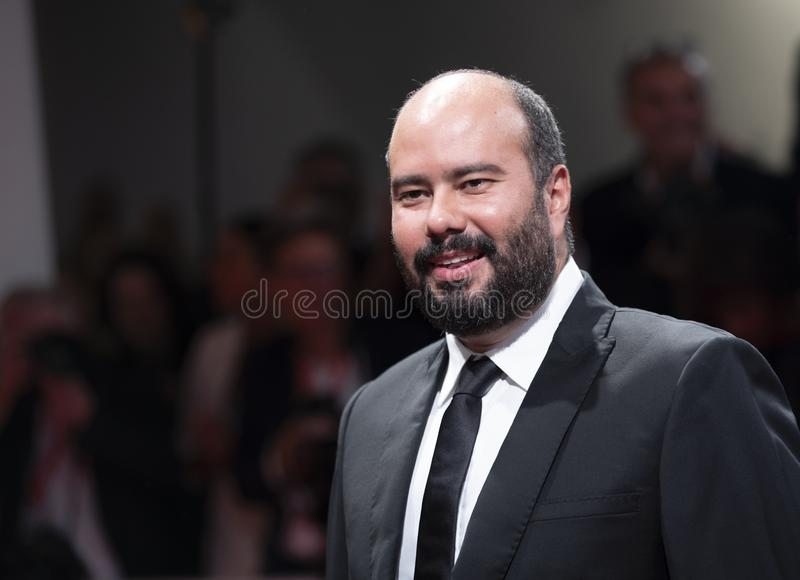 Ciro Guerra walks the red carpet stock image
