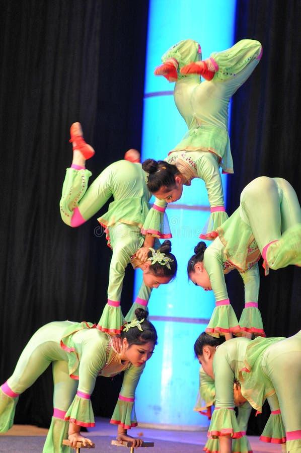 Cirque chinois image stock