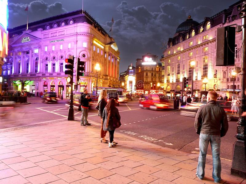 Cirque de Piccadilly à Londres photos libres de droits