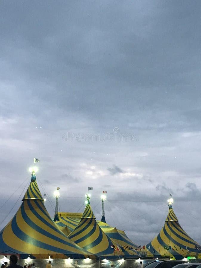 Cirque lights royalty free stock image