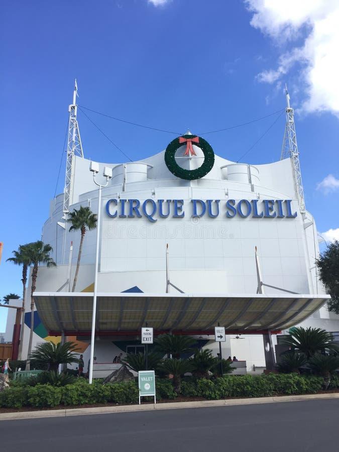 Cirque Du Soleil, весны Дисней стоковые изображения rf