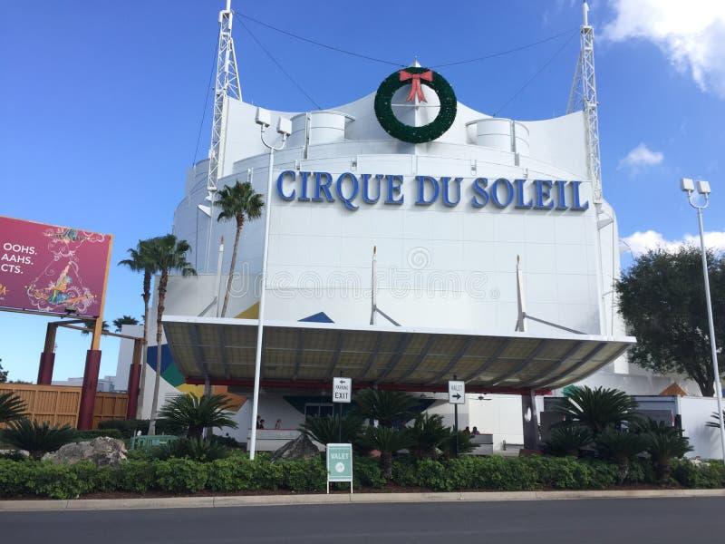 Cirque Du Soleil, весны Дисней стоковое изображение