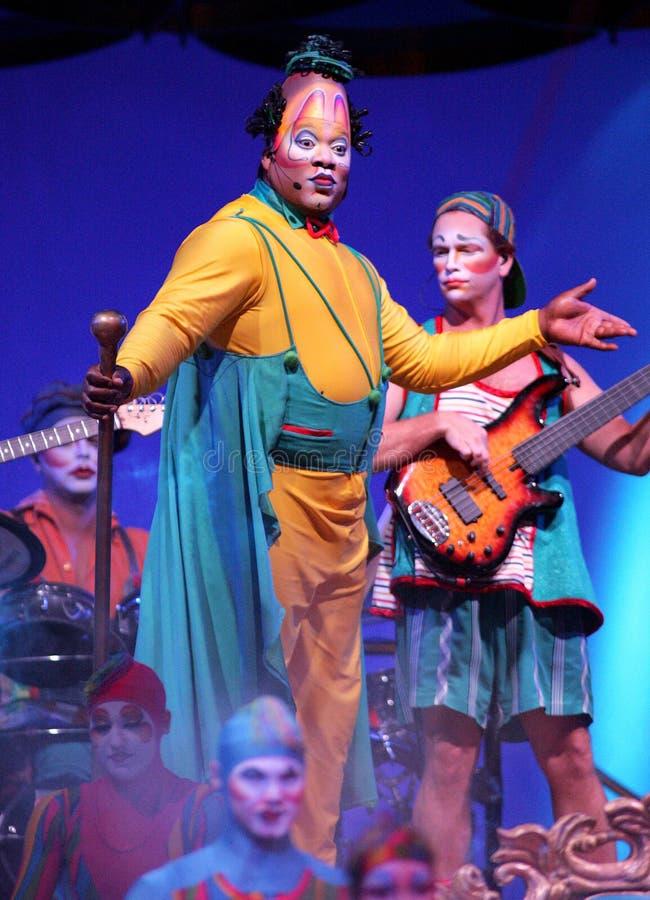 Cirque Du Soleil выполняет стоковая фотография rf