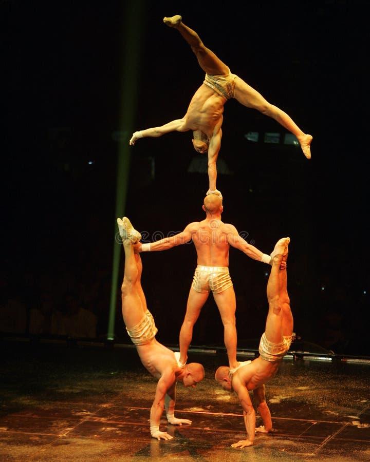 Cirque du Soleil stock afbeelding