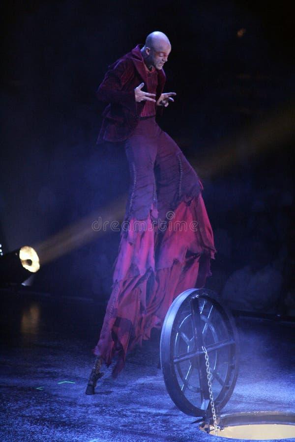 Cirque du Soleil royalty-vrije stock afbeelding