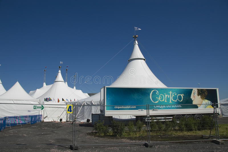 Cirque du Soleil royalty free stock photo