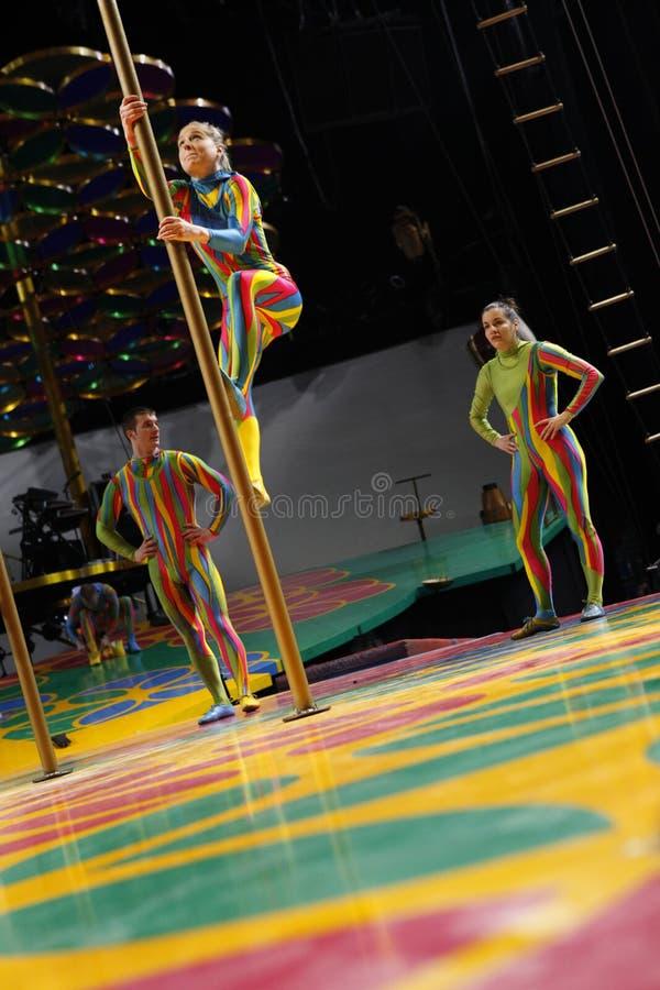 Cirque du Soleil fotos de archivo