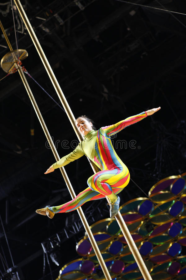 Download Cirque du Soleil editorial stock image. Image of event - 18422929