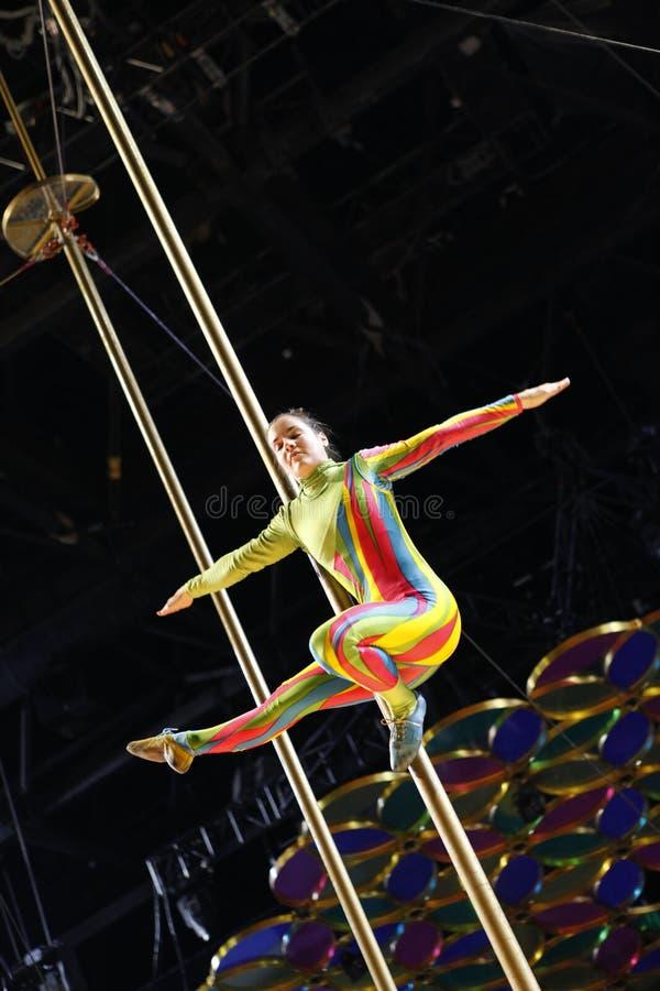 Cirque du Soleil images libres de droits
