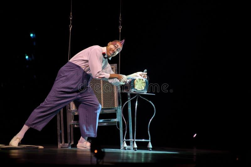 cirque du soleil стоковая фотография rf