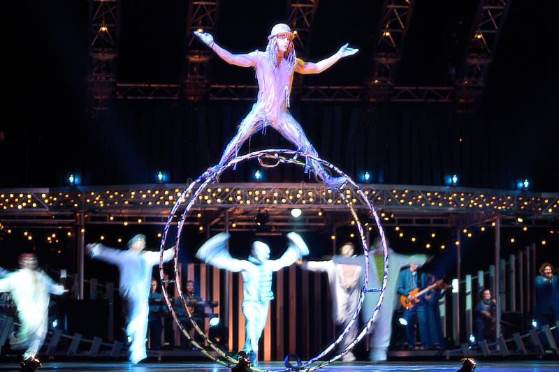 cirque Du Soleil fotografia stock