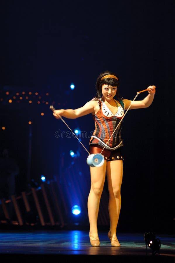 cirque du soleil стоковые фото