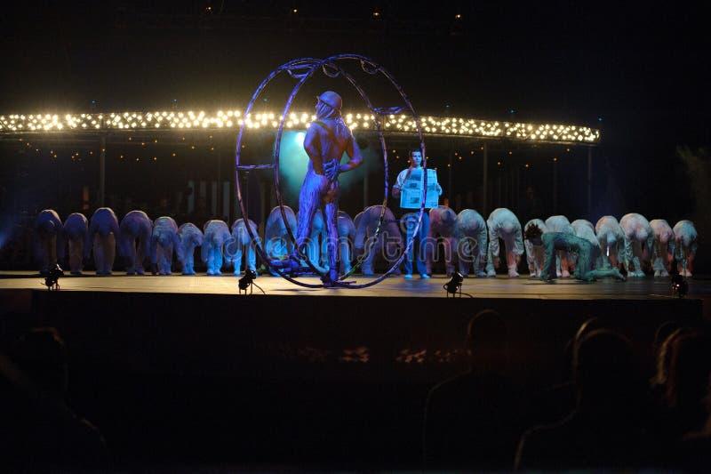 Cirque du Soleil imagenes de archivo