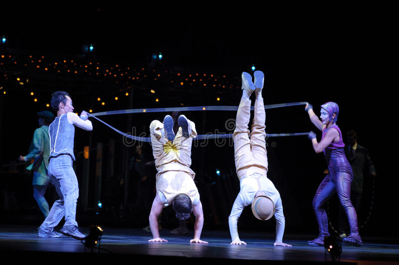 Cirque du Soleil royalty free stock photography