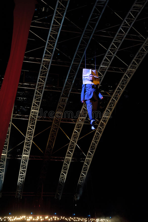 cirque du soleil стоковое изображение