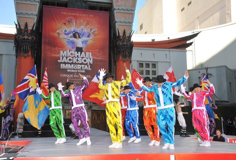 Cirque du Soleil, Michael Jackson photo stock