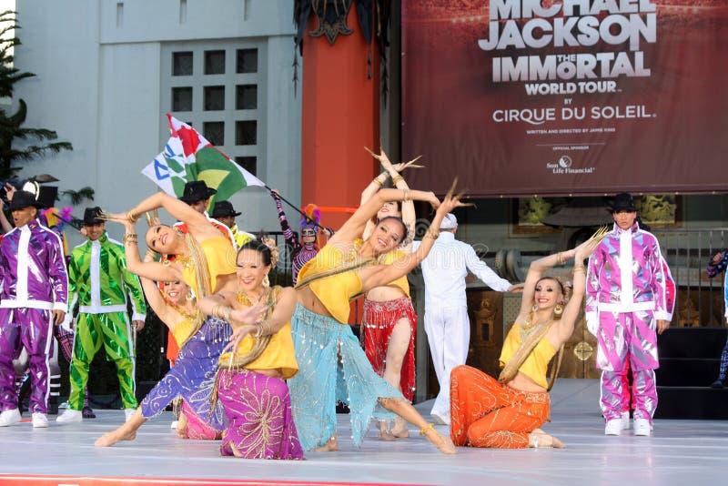 Cirque du Soleil, Michael Jackson photo libre de droits