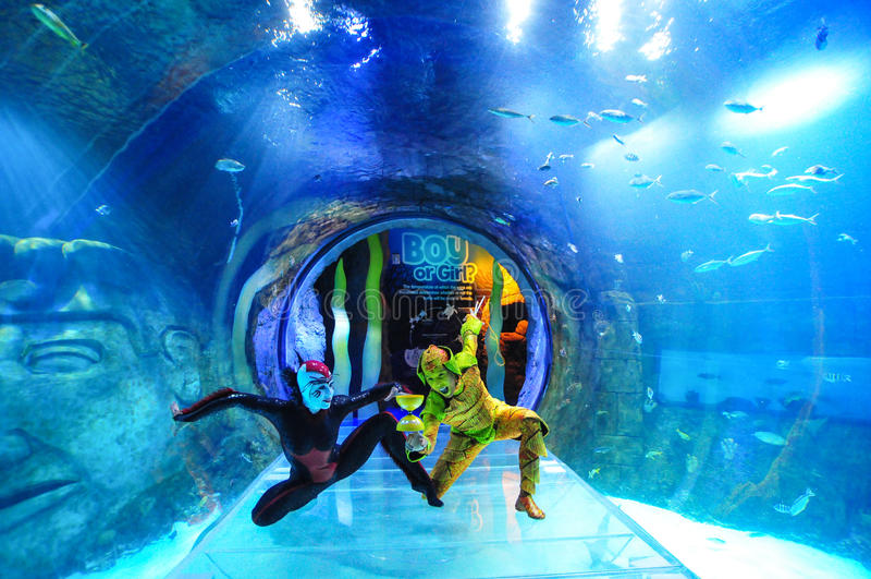 Cirque du Soleil stock image