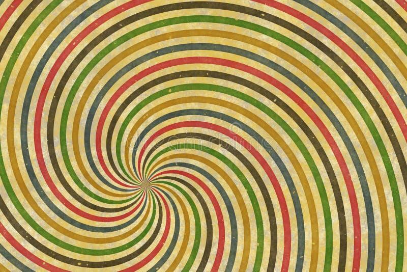 Cirque spirala obrazy royalty free