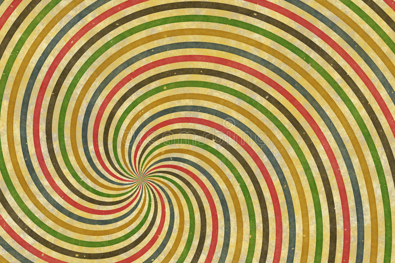 Cirque spirala fotografia stock