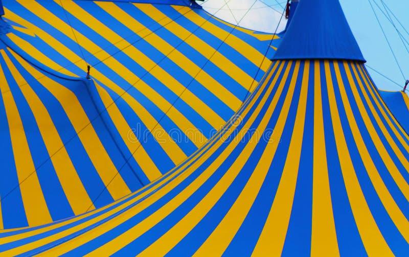 Cirque Zeltabschluß herauf Montreal stockbilder