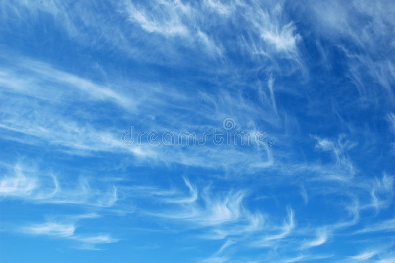 Cirrus photographie stock