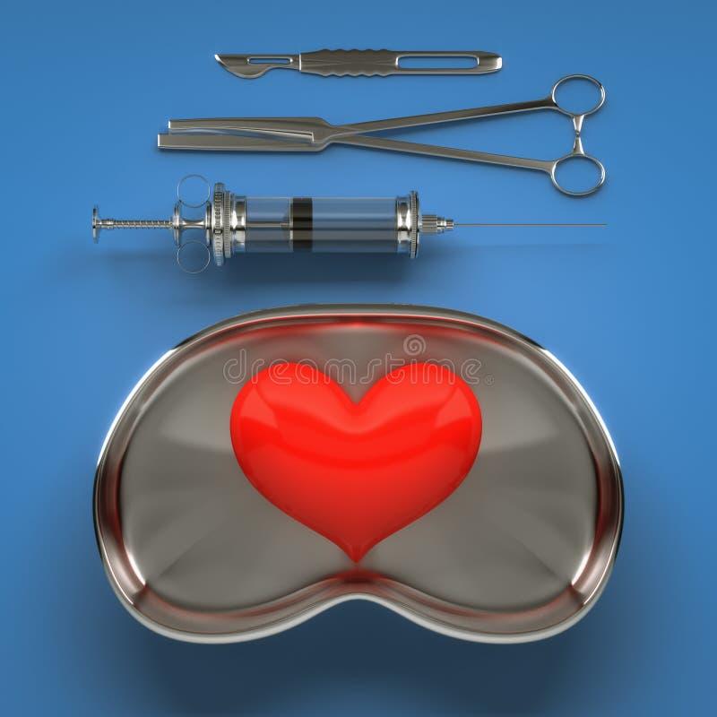 Cirugía de corazón libre illustration